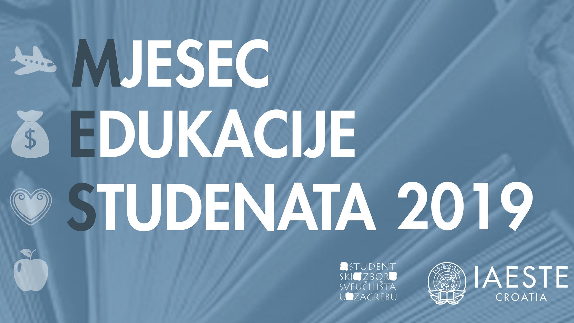 Mjesec edukacije studenata u Zagrebu 2019